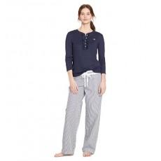 Cotton Poplin Pajama Pant