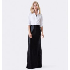 Taryn Beaded Silk Skirt