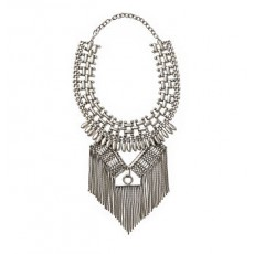 Fringed Chain Necklace