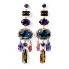 Swarovski Cabochon Earrings