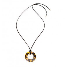 Round Pendant Necklace _ More 40 % Off