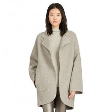Double-Faced Wool-Blend Coat _ More 40 % Off