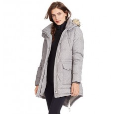 Tweed-Print Down Jacket _ More 40 % Off