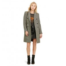 Double-Breasted Wool Coat _ More 40 % Off