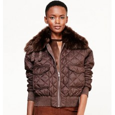Quilted Bomber Jacket _ More 40 % Off