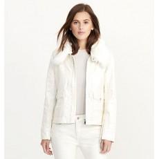 Coated Stretch Denim Jacket _ More 40 % Off