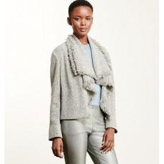 Fringed Wool-Blend Jacket _ More 40 % Off