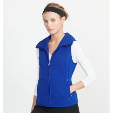 Quilted Jacquard-Knit Vest _ More 40 % Off