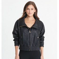 Coated French Terry Jacket _ More 40 % Off