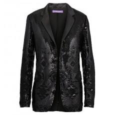 Tess Sequined Silk Jacket