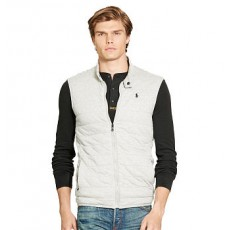 Quilted Jersey Vest _ More 40 % Off
