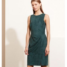 Faux-Suede Dress _ More 40 % Off