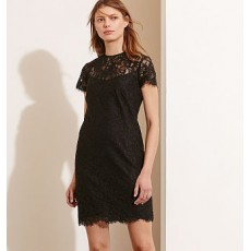 Lace Short-Sleeve Dress _ More 40 % Off