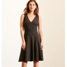 Fit-and-Flare Ponte Dress _ More 40 % Off