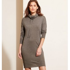 Jersey Funnelneck Dress _ More 40 % Off