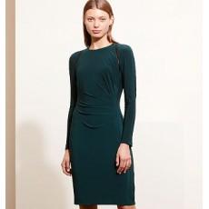 Jersey Long-Sleeve Dress _ More 40 % Off