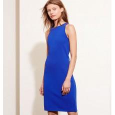 Rib-Knit Sleeveless Dress _ More 40 % Off