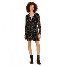 Star-Print Sheer Dress _ More 40 % Off