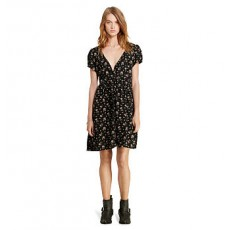 Floral Button-Front Dress _ More 40 % Off