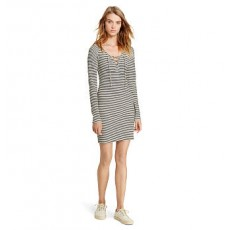 Slim-Fitting Striped Dress _ More 40 % Off