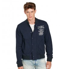 Cotton French Terry Jacket _ More 40 % Off