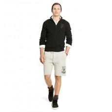 Cotton-Blend-Fleece Short _ More 40 % Off