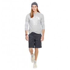 Classic-Fit Twill Short _ More 40 % Off