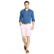Classic-Fit Chambray Short _ More 40 % Off