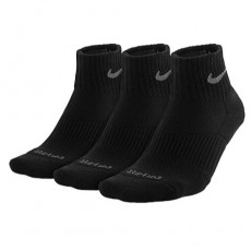 Nike 3PK Dri-FIT 1_2 Cushion Quarter Socks Mens  _ 4835001