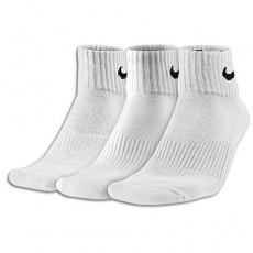 Nike 3 Pack Moisture MGT Cushion Quarter Socks Mens  _ 4703101
