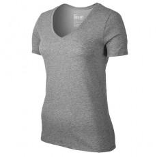 Nike Dri-FIT Cotton S_S V-Neck T-Shirt 2.0 Womens  _ 94363063